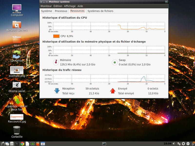 Cubuntu 100% ubuntu + OpenBox LXDE + GNOME 2 CLASSIC + CINNAMON